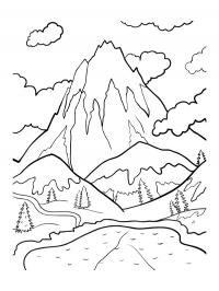 Landscape Color Pages Free Coloring Pages For You And Old