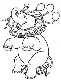 Circus to print - Circus Kids Coloring Pages | 266x200