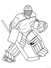 Icehockey goaly