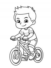 Boy on the bicycle