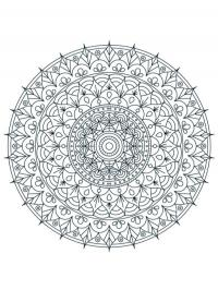 Mandala for adults