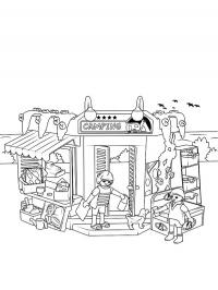 Playmobil Color Pages Free Coloring Pages For You And Old