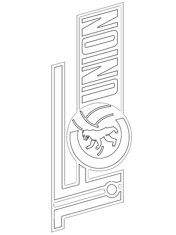 coloring page 1. FC Union Berlin