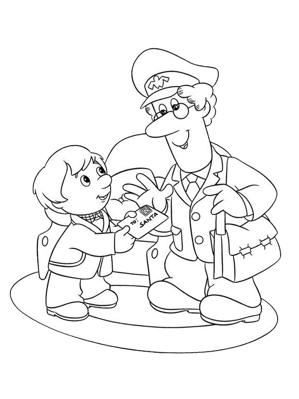coloring page Pat Clifton