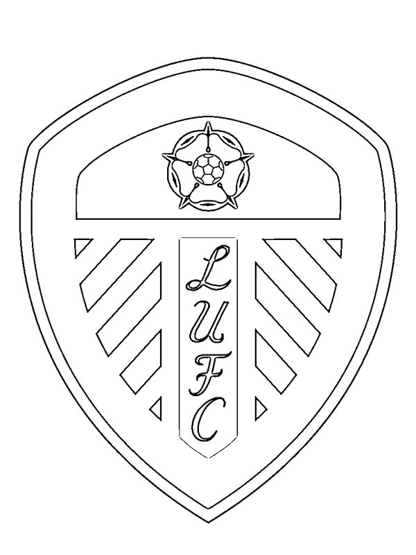 coloring page Leeds United FC