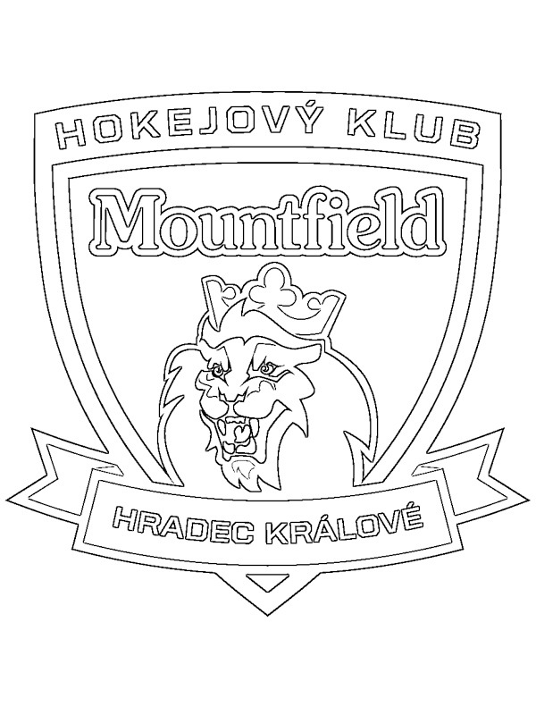 coloring page Mountfield hk