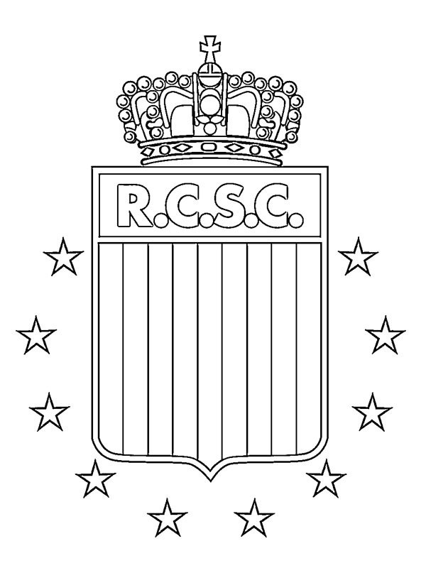 coloring page Royal Charleroi Sporting Club