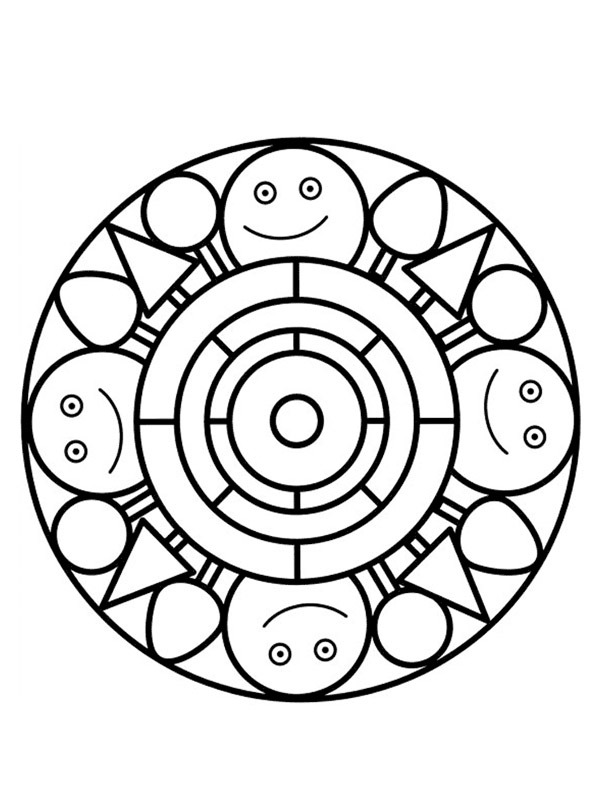 happy mandala