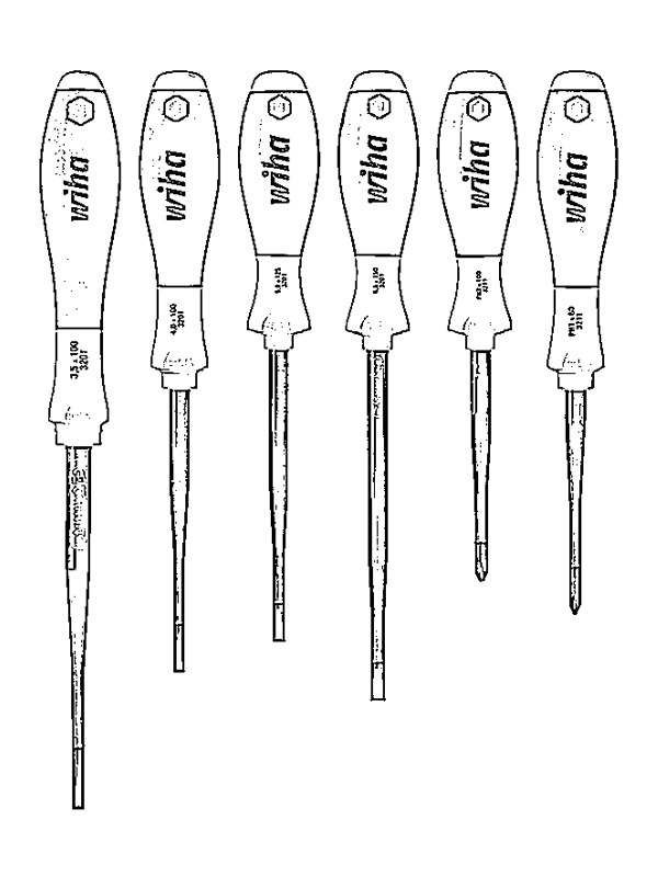 coloring page Wiha Screwdrivers